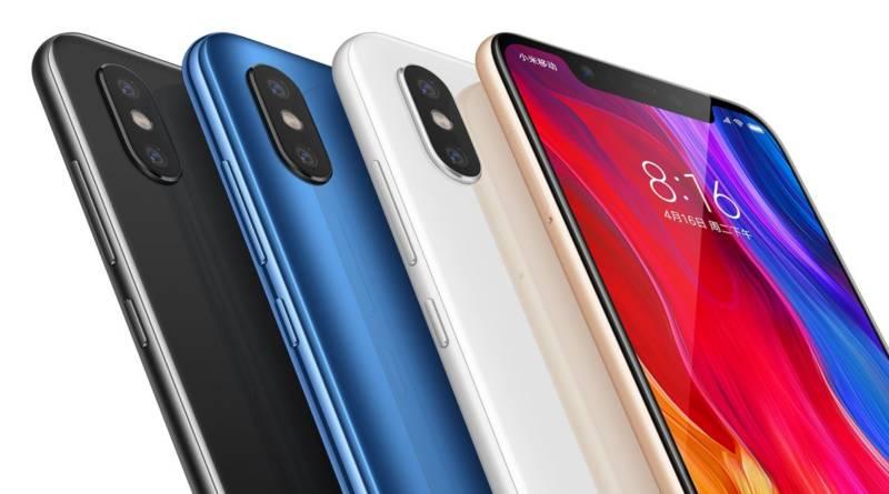 Xiaomi unveils Mi8