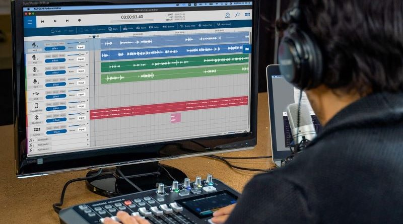 Tascam launches MixCast 4