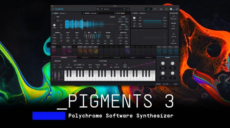 Arturia PIGMENTS 3 – No talking Sound Demo